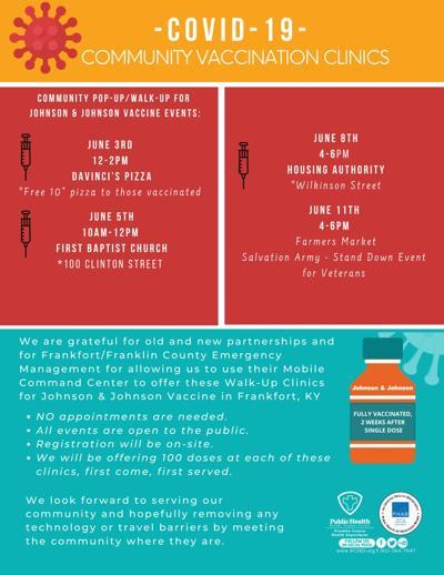June 1 COVID events