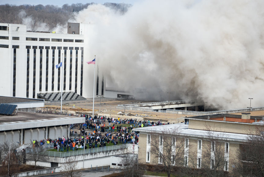Business Spotlight: Thousands gathered, stores saw increased business from tower implosion
