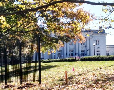 Governor's Mansion fencing