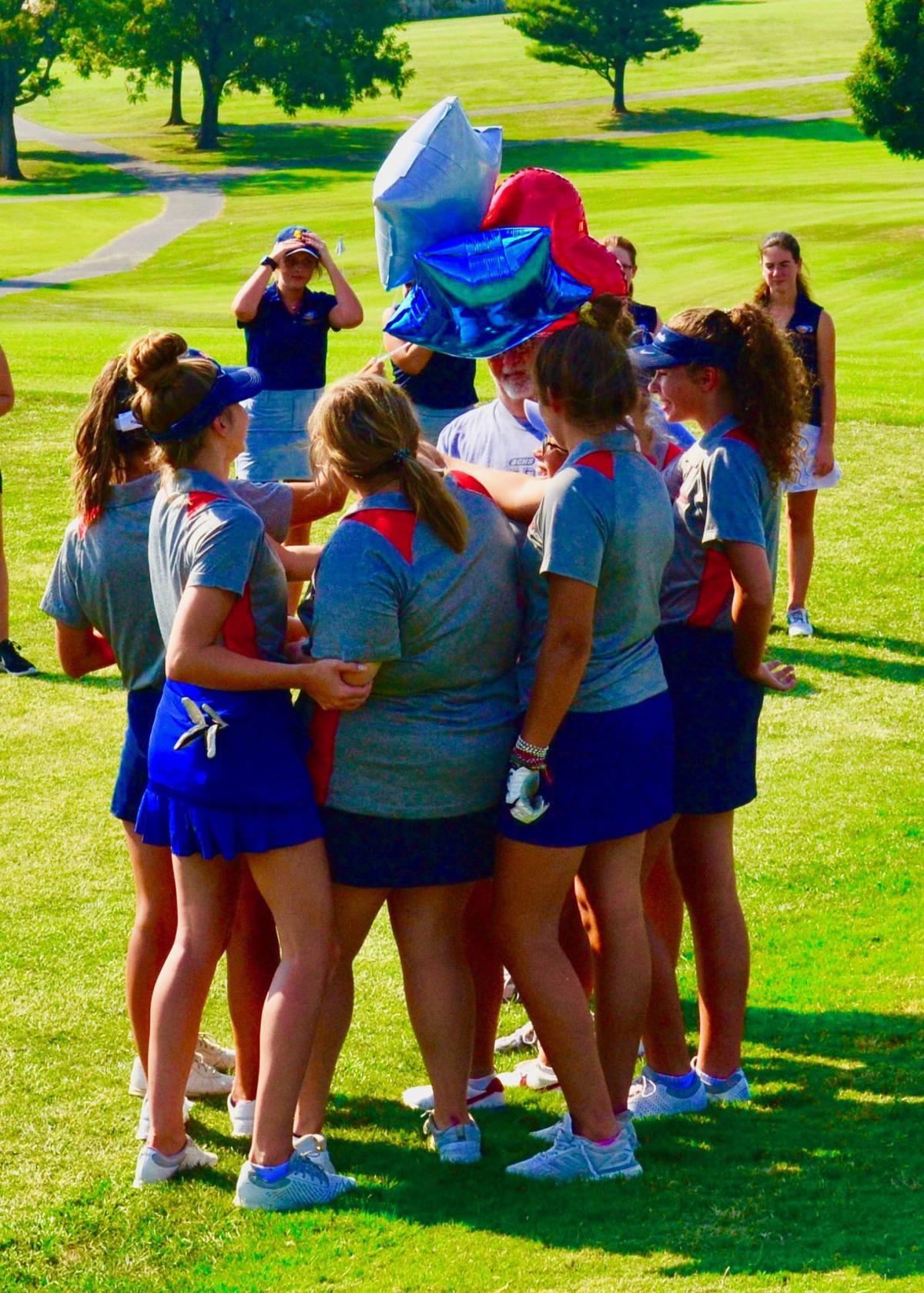 Anderson girls golf