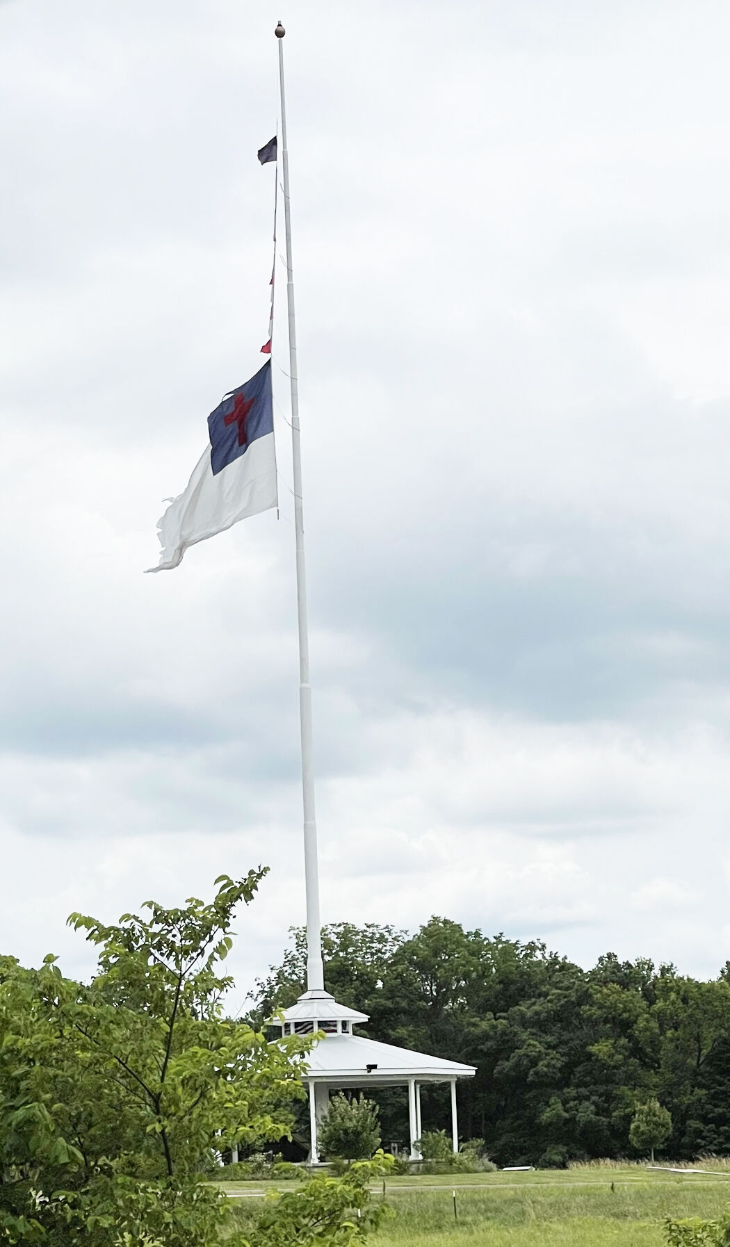 Missing US flag