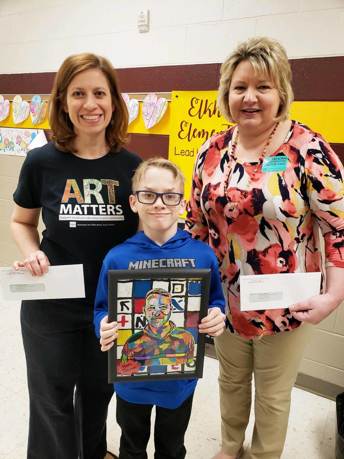Education Spotlight: Elkhorn fifth-grader lets his artwork do the talking
