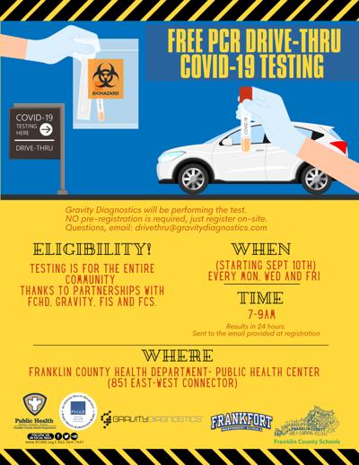 8.5/11 COVID Testing - FCS, Gravity, FCHD