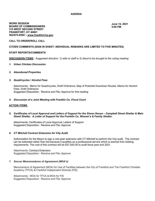 6-14 city agenda