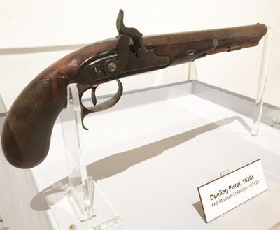 Aaron Burr pistol