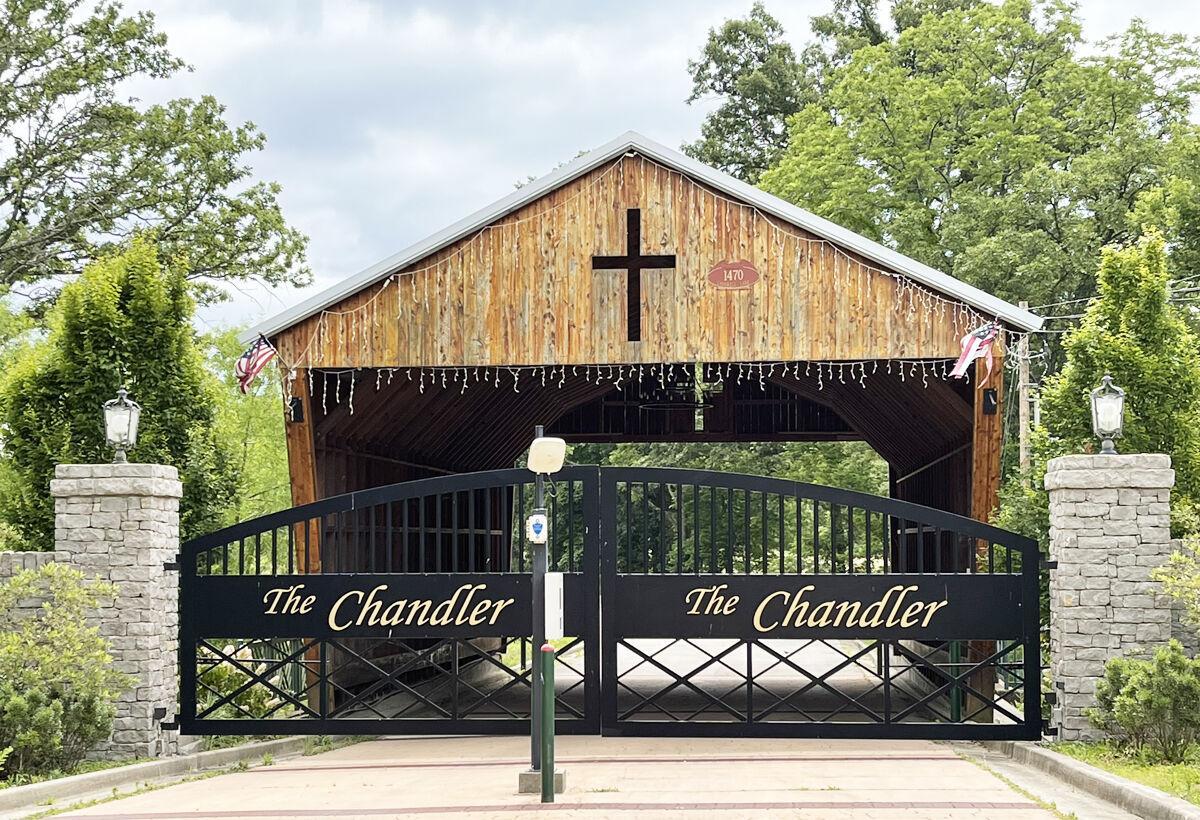 The Chandler entrance