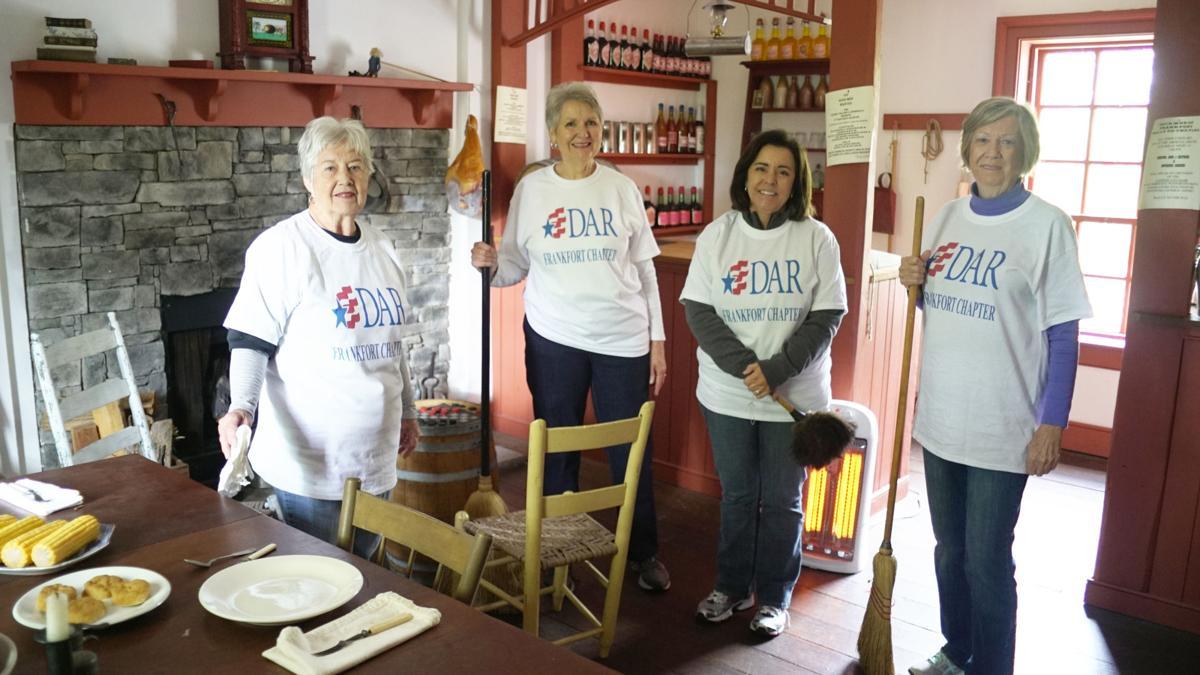 Clean sweep: DAR volunteers tidy up Sullivan House