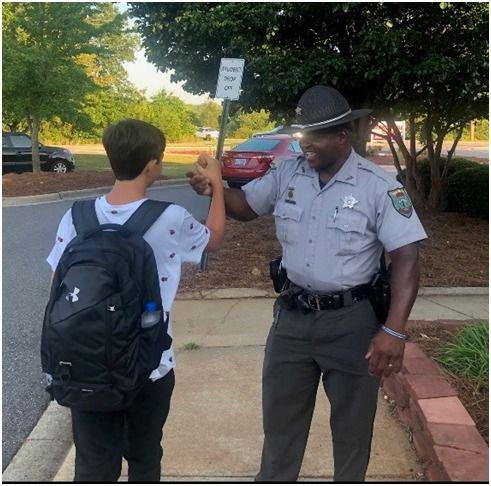Sheriffs back to school help 2