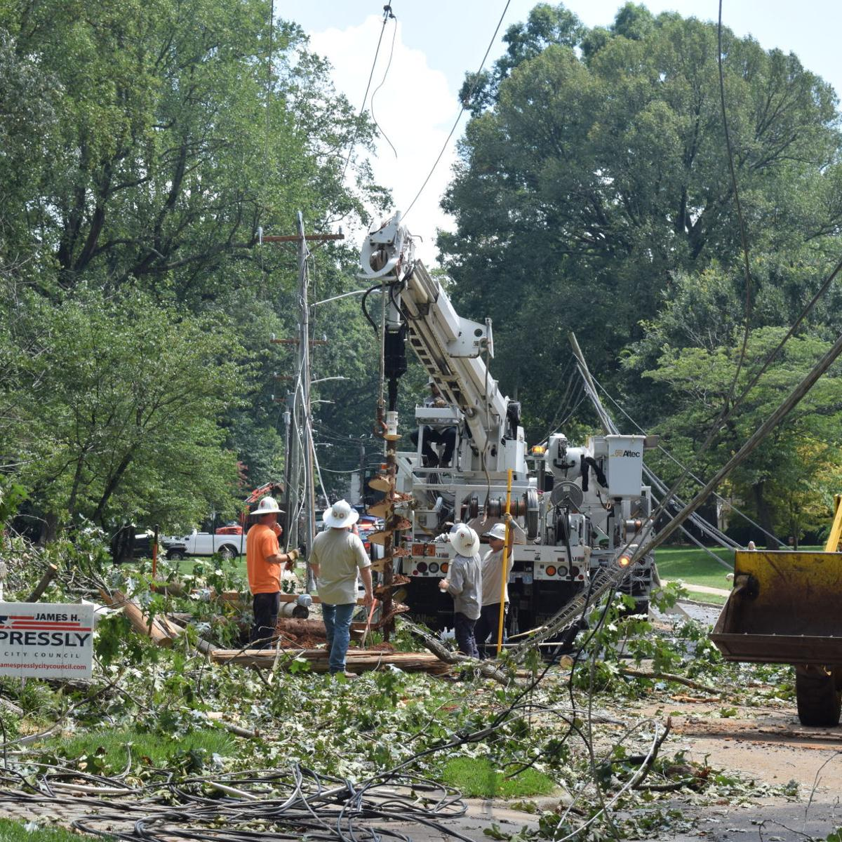 Powerful storm leaves damage, outages in its wake | Local