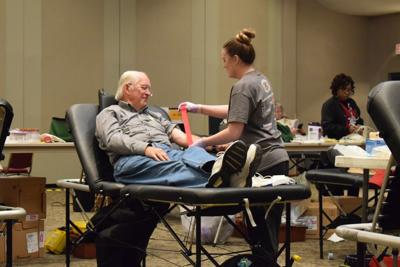 Masonic blood drive
