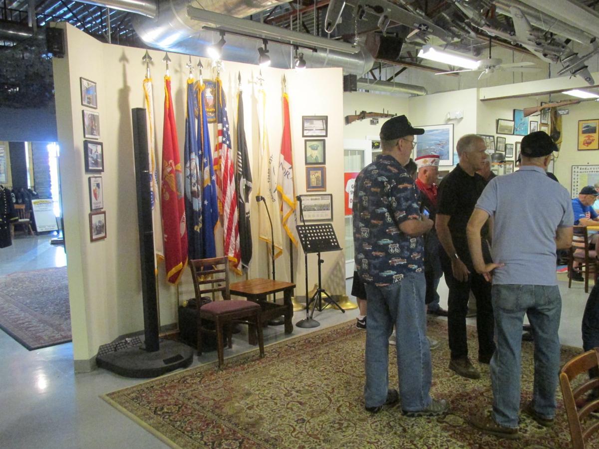 Tillis: Working with veterans is 'rewarding part of job