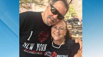 Landon Spradlin and wife Jean