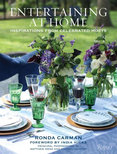 entertaining from home book