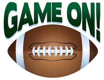 High School Football game on logo