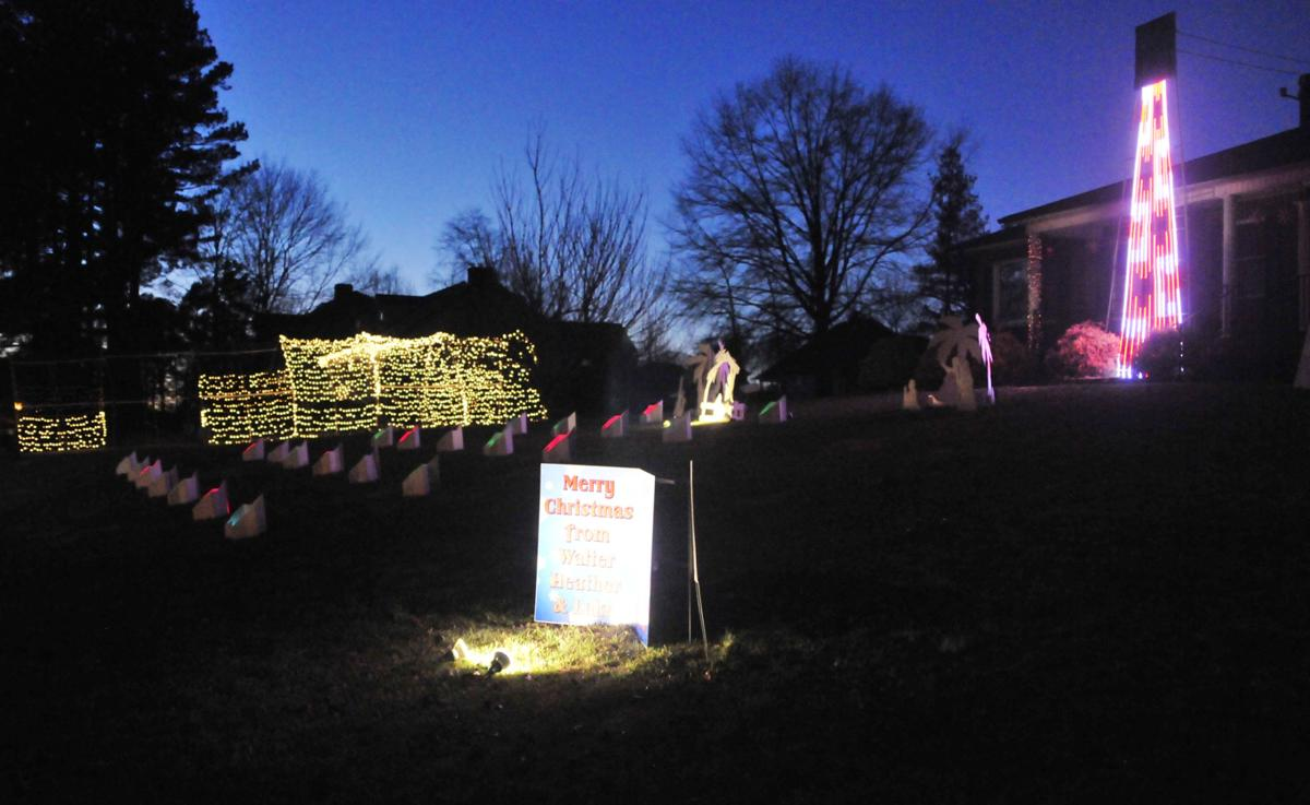 statesville light show hits right notes news statesville com