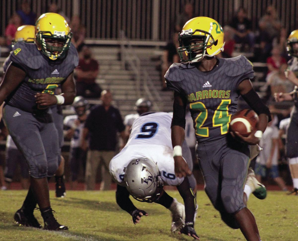 HIGH SCHOOL FOOTBALL: Opening TD sets tone for West Iredell