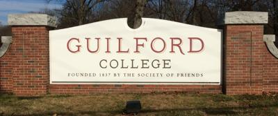 Guilford College generic Friendly Avenue main sign
