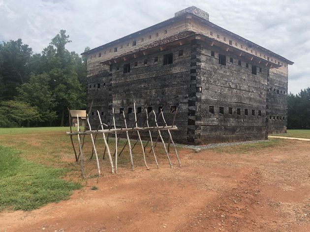 Fort Dobbs has been reconstructed  How does the historically