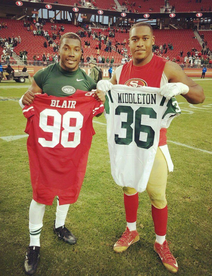 Doug Middleton NFL Jersey