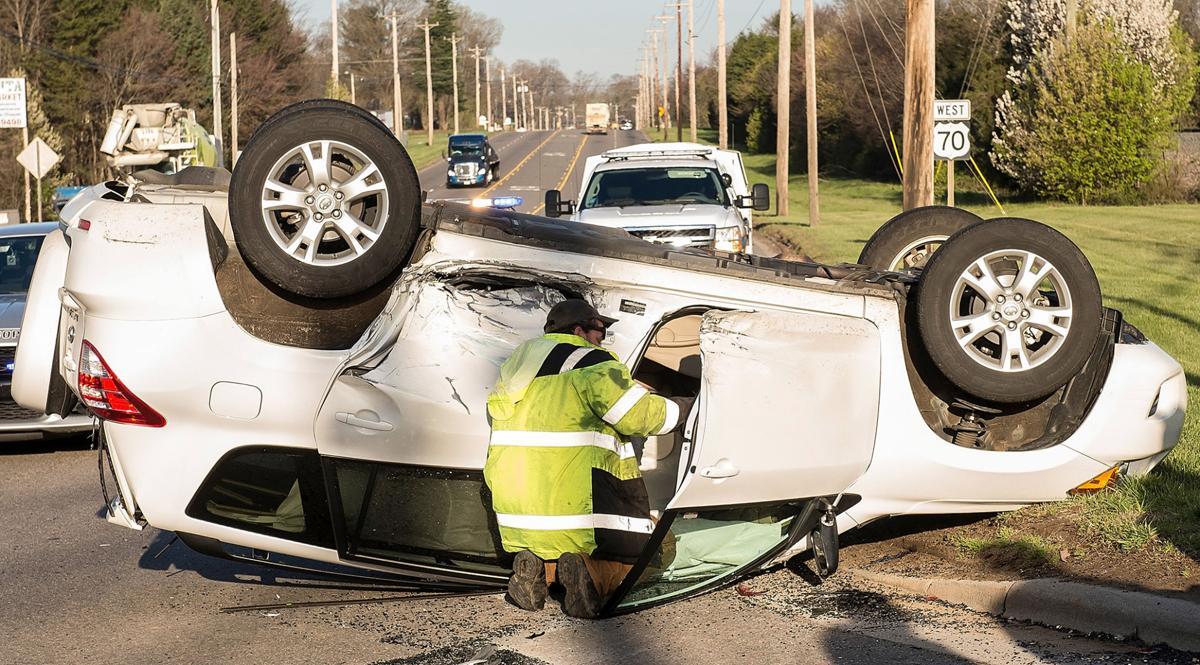 SUV flips after Salisbury Highway crash   News   statesville com
