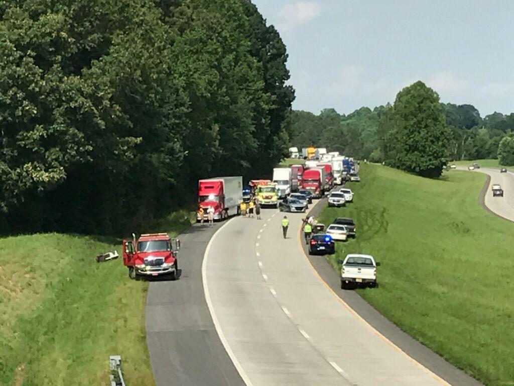 Westbound lanes of I-40 closed due to crash   News