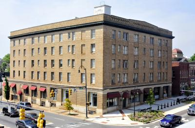 What was the Vance Hotel like in the 1940s?