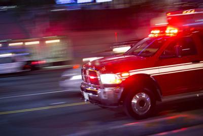 Emergency vehicle blurred #generic