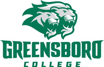 Greensboro College athletics sports logo 2019