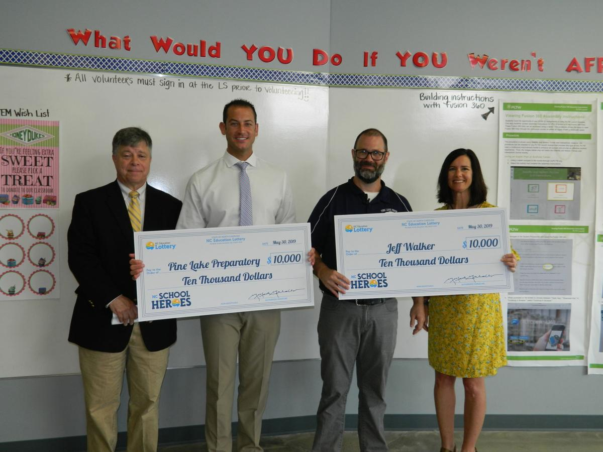 N C  Education Lottery impacts life of teacher, known for his own