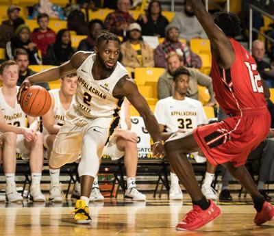 Appalachian State Winston-Salem State Basketball