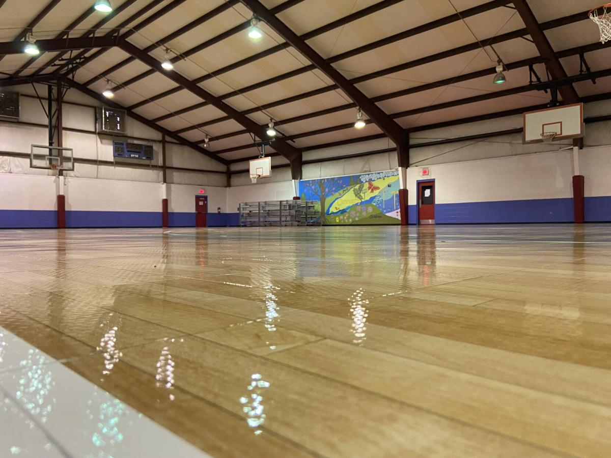 The Bentley Center had new Sport Court flooring installed, replacing the older floor that was installed when the building was built in 1996.