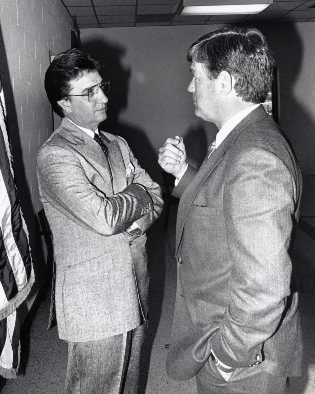 Former county commissioner, NASCAR team owner Larry Hedrick remembered