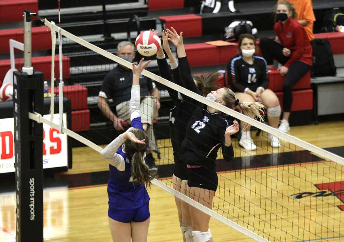 11-20-20 North Iredell-Statesville volleyball