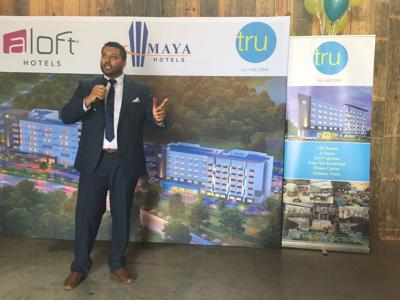 Ground Broken For Two Hotels Near I 77
