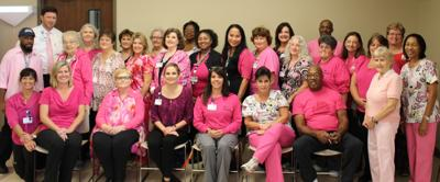Photo Davis Regional Staff Goes Pink For Breast Cancer Awareness
