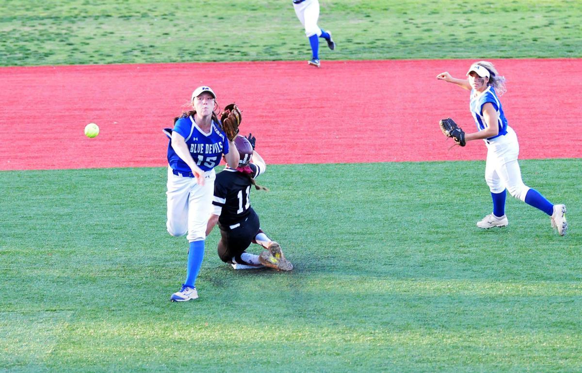 Mooresville-South Caldwell softball 2
