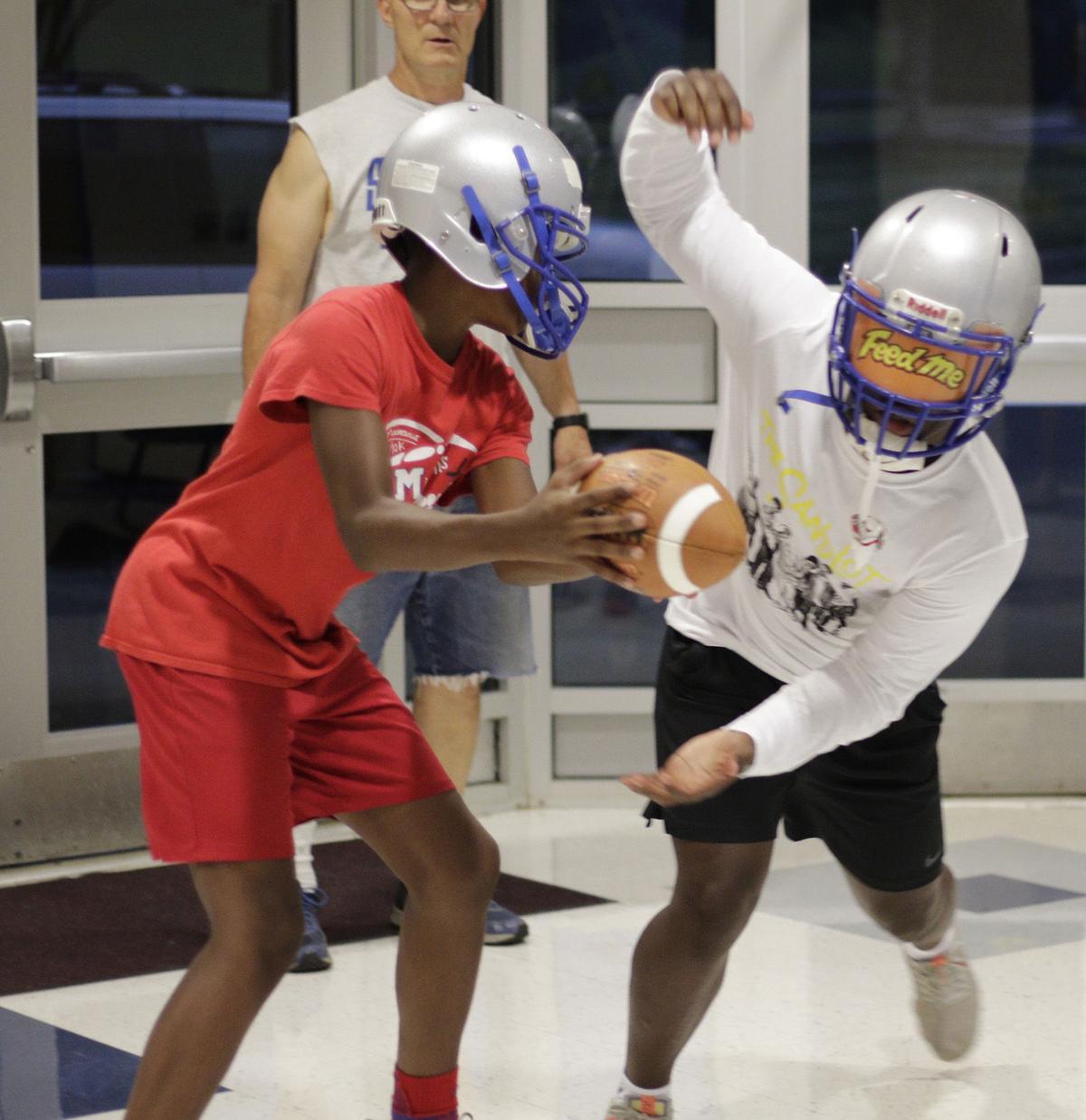 Statesville first football practice