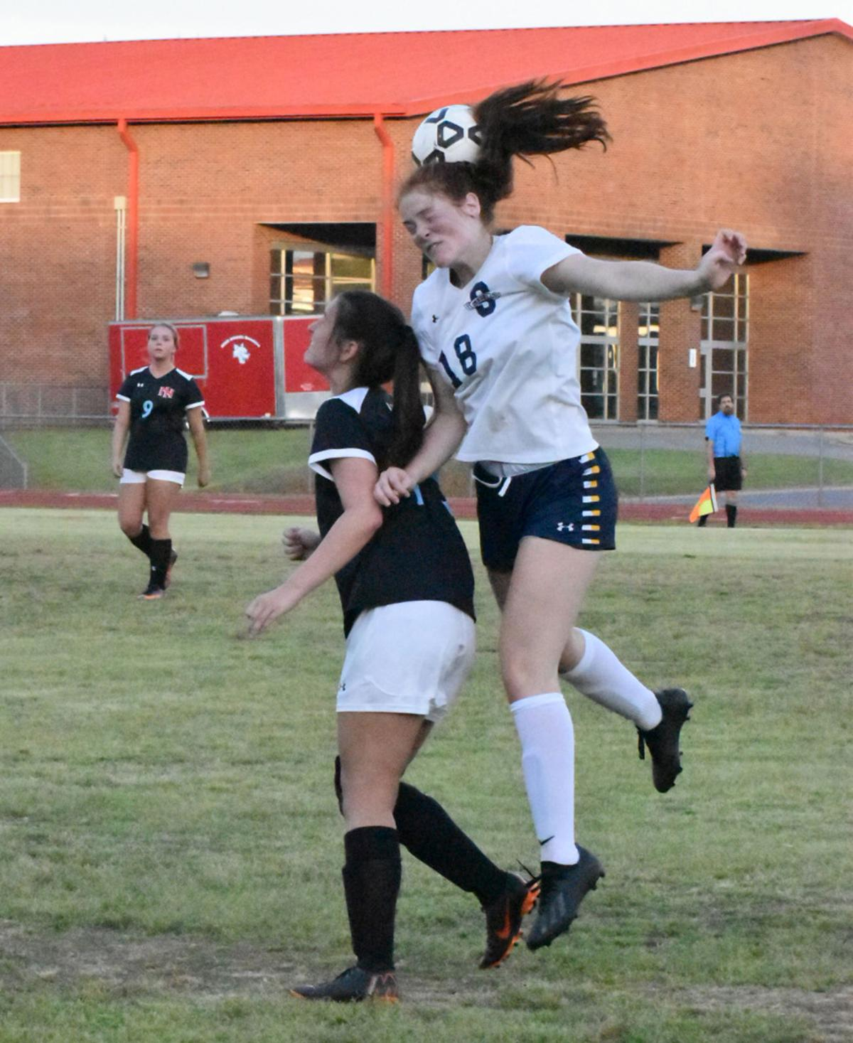 South Iredell-North Iredell girls soccer 1
