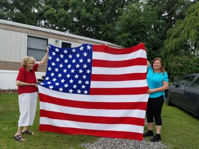Iredell Woman S Crocheted Flag Headed To Veteran In Ohio News