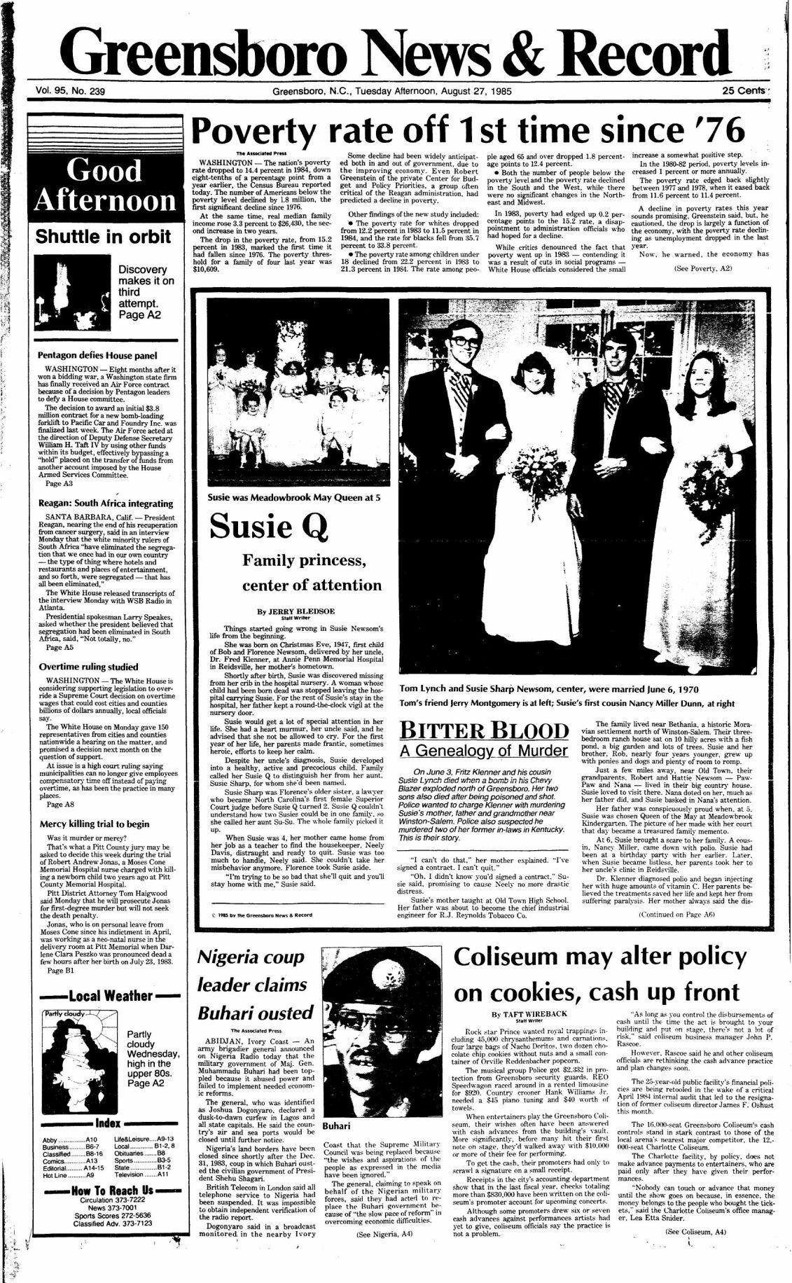 Bitter Blood: Susie Q, family princess