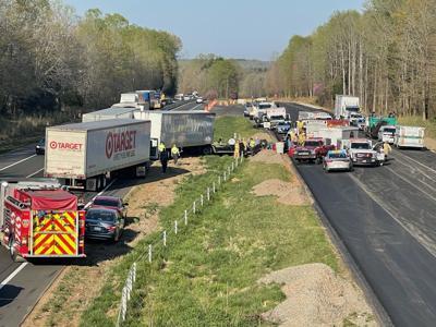 Interstate 40 wreck