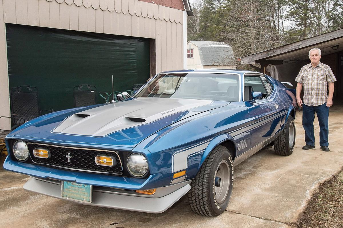 My Classic Car Richard Williams 72 Ford Mustang Mach 1