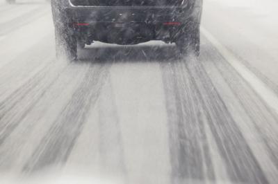 icy snow roads generic