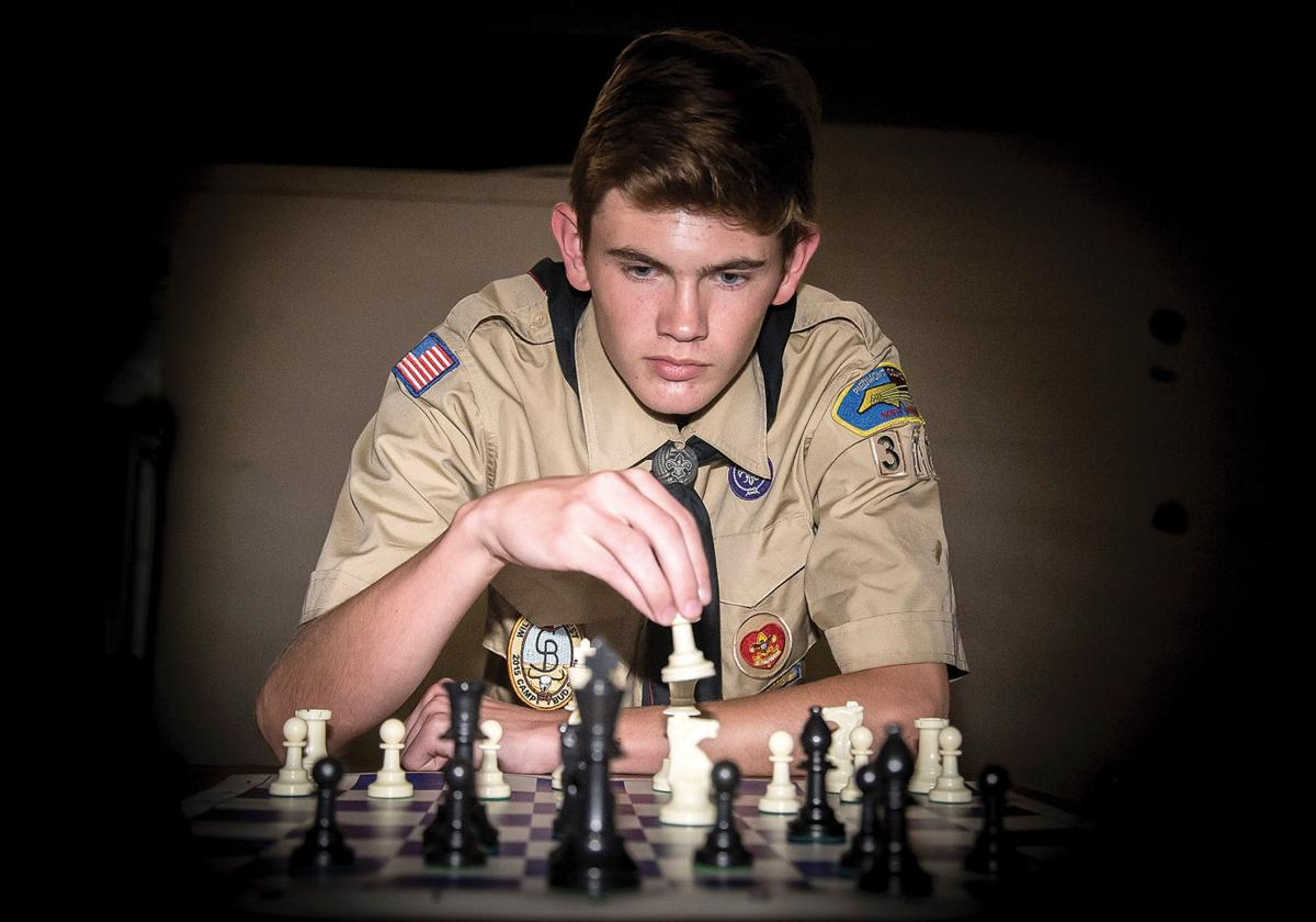 Iredell student's Eagle Scout project to help schools' chess