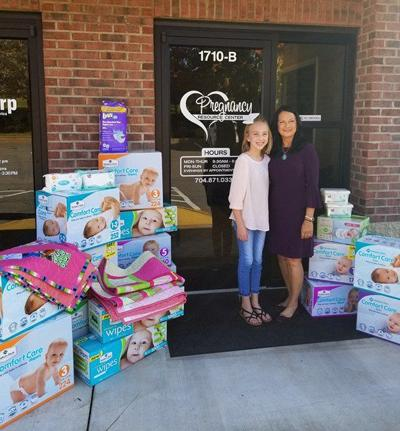 Statesville Girl Gives The Gifts On Her 11th Birthday