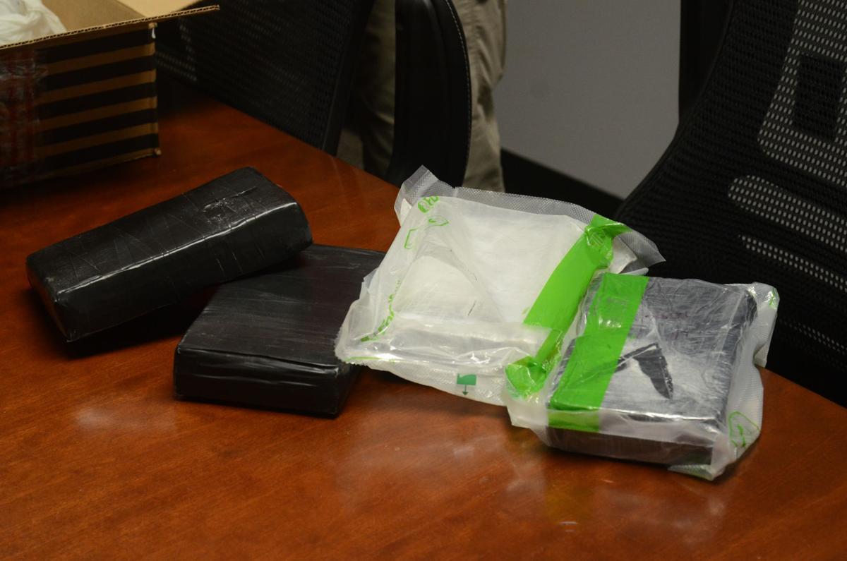 Drug evidence seized