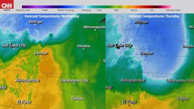 Snowstorm Temperatures