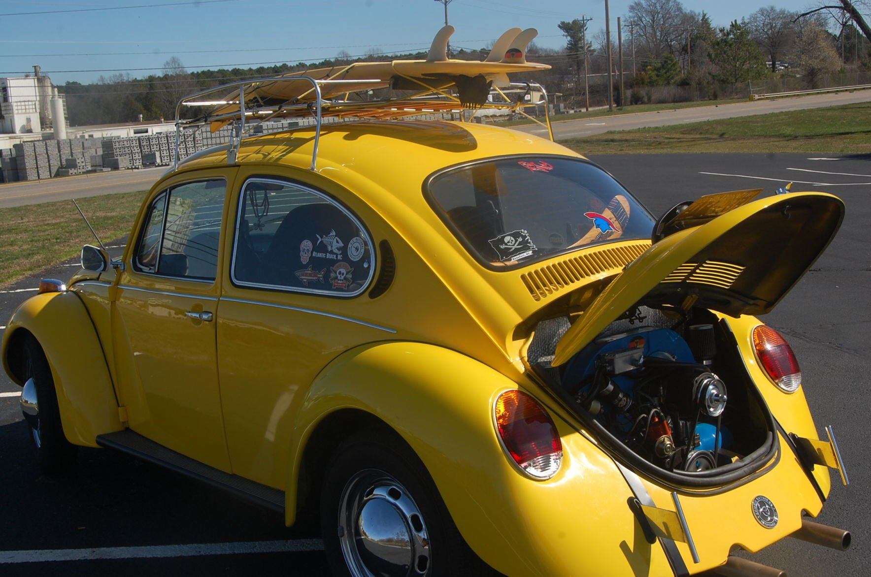 My Classic Car Tom Anderson S 1973 Volkswagen Super Beetle Townnews Statesville Com