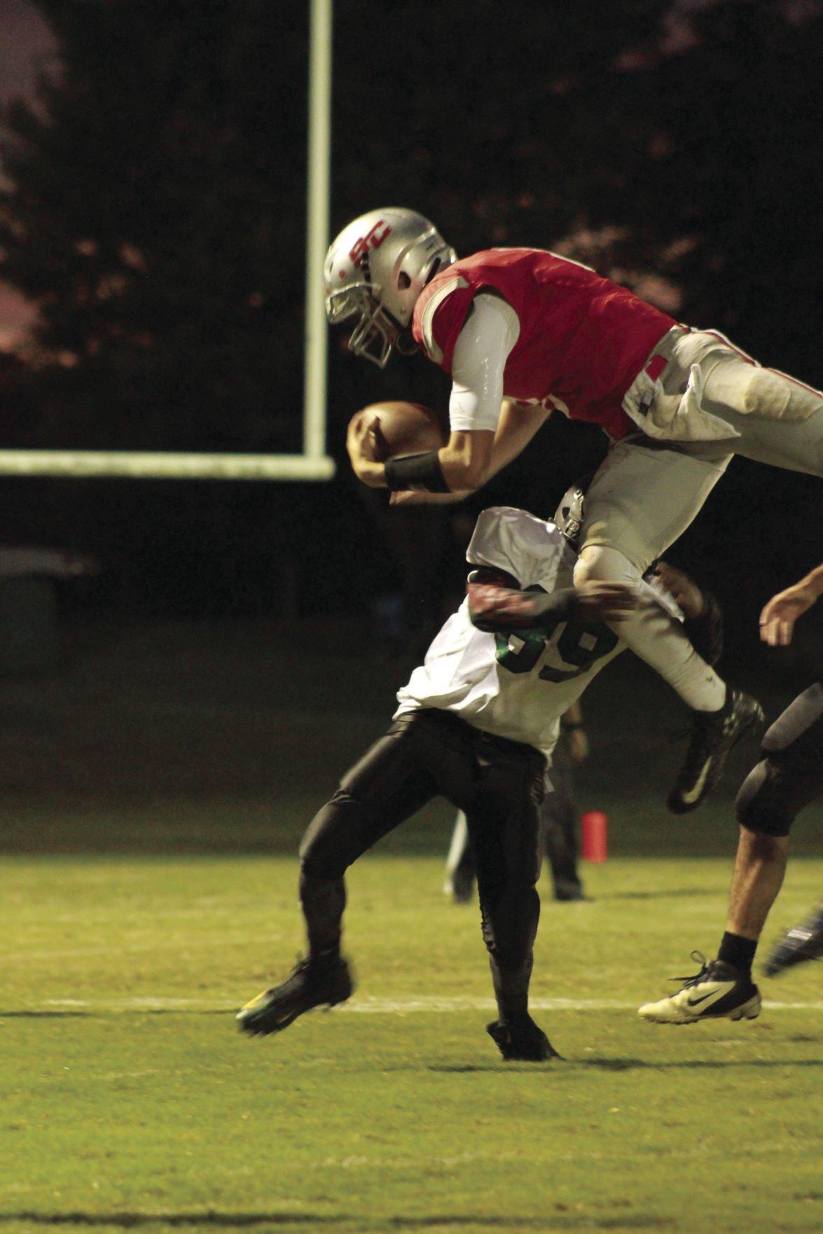 HIGH SCHOOL FOOTBALL: Statesville Christian holds on for 10