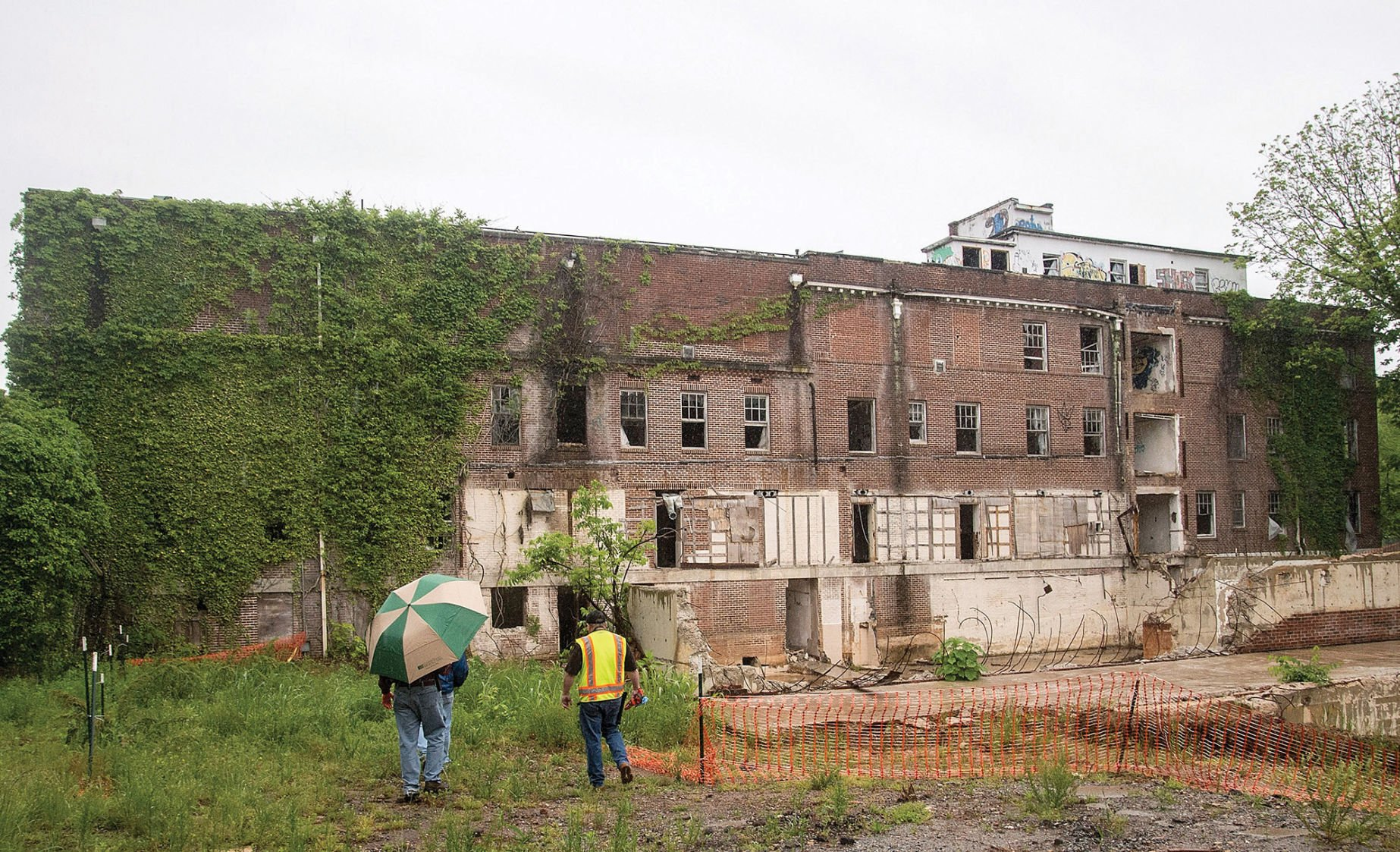 Old Davis Hospital Demolition Galleries Statesville Com